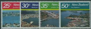NZ SG1221-4 Large Harbours set of 4